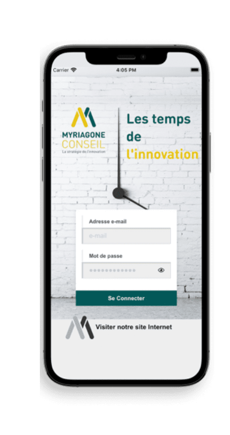 Application Myriagone de l'Innovation