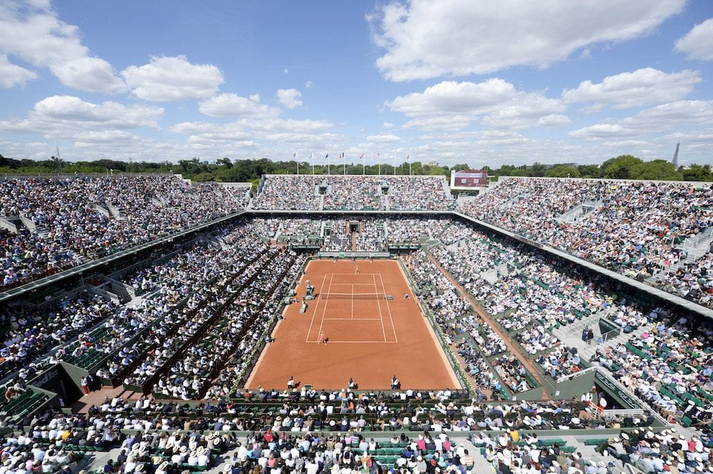 TENNIS - INTERNATIONAUX DE FRANCE 2014 Roland Garros Terres et Territoires